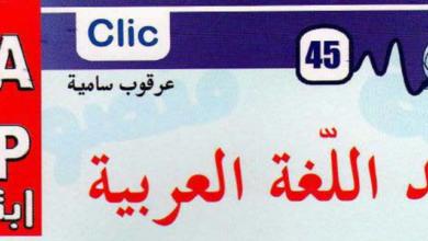 صورة مطويات كليك – قواعد اللغة العربية السنة الرابعة ابتدائي
